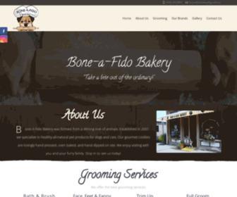 Bone-a-fido.com - Gourmet Dog Treats - Gifts for Dogs, Cats - Bone-a-Fido