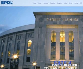 Bpdl.com - Precast Concrete - BPDL - Home