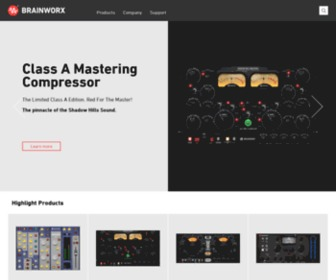 Brainworx-music.de - Brainworx | M/S Mastering Tools & Audio Plug-ins
