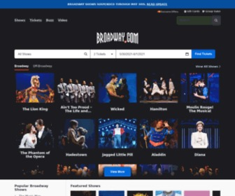 Broadway.com - Broadway Tickets   Broadway Shows   Theater Tickets   Broadway.com