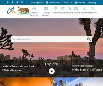 Ca.gov - Welcome to the California State Web Portal