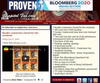 Capitolfax.com - Capitol Fax.com - Your Illinois News Radar