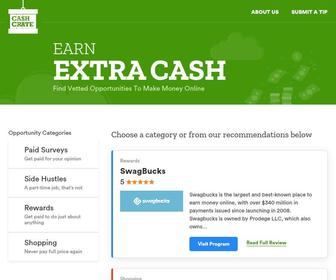 Cashcrate.com - Make Money Online With Paid Surveys | Free Cash at CashCrate!