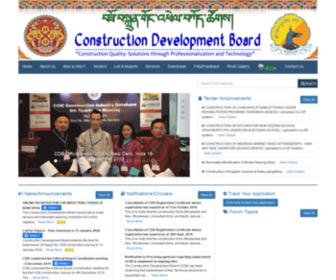 Cdb.gov.bt - WEB-Construction Development Board