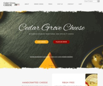 Cedargrovecheese.com - Cedar Grove Cheese | We make the best traditional and specialty cheese you've ever tasted.