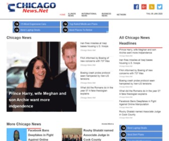 Chicagonews.net - Chicago News.Net   Late Breaking Chicago & Illinois News Headlines