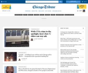 Chicagotribune.com - Chicago Tribune: Chicago breaking news, sports, business, entertainment, weather and traffic - Chicago Tribune