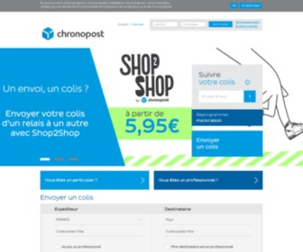 Chronopost.fr - Accueil