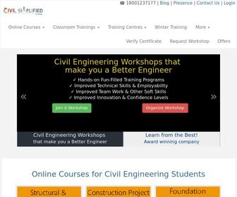 Civilsimplified.com - Civil Engineering Workshops and Projects