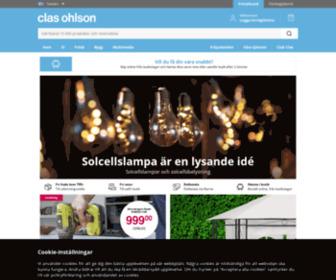 Claesohlsson.com - Clas Ohlson