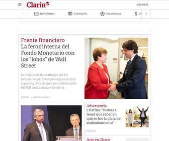 Clarin.com - Clarín: Últimas noticias de Argentina y el mundo – clarin.com