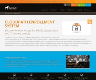 Cloudpath.net - Cloudpath Enrollment System | Ruckus Networks