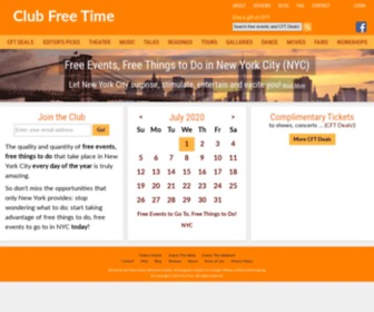 Clubfreetime.com - Free Events, Free Things to Do in New York City (NYC)
