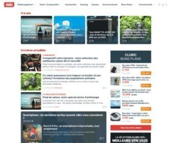 Clubic.com - Actualité High-Tech et Numérique, Comparatifs et Logiciels | Clubic