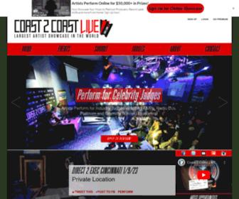 Coast2coastlive.com - Coast 2 Coast LIVE | Largest Artist Showcase in the World