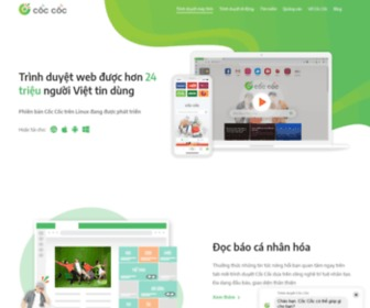 Coccoc.com - Trình duyệt Cốc Cốc, lướt web theo phong cách Việt