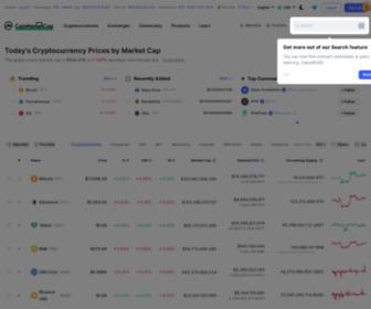 Coinmarketcap.com - CryptoCurrency Market Capitalizations