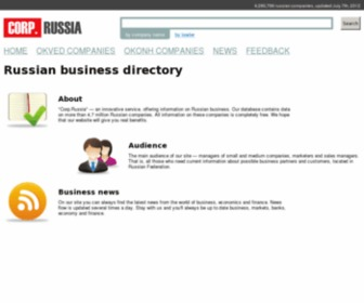 Corprussia.com - Corp.Russia - Russian business directory