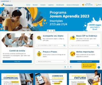 Correios.com.br - Correios: encomendas, rastreamento, telegramas, cep, cartas, selos, agências e mais!