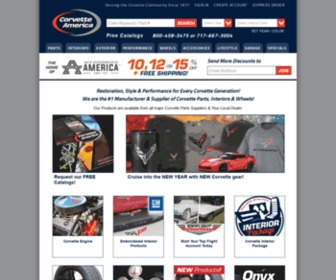 Corvetteamerica.com - Corvette America - Corvette Parts and Accessories