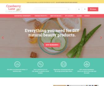 Cranberrylanenaturalbeauty.com - 100% Pure Natural Beauty Products | Cranberry Lane