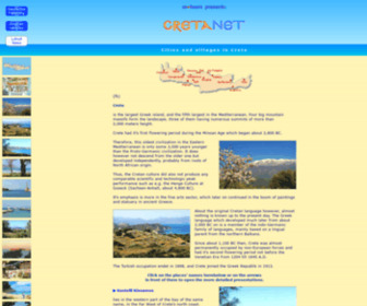 Cretanet.com - CretaNet: Collection of short portraits of Cretan cities and villages