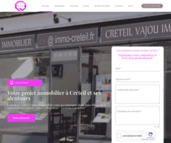 Creteil-immobilier.fr - Agence immobilière Creteil Vajou Immobilier CVI