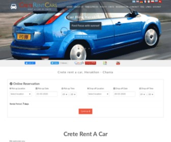 Creterentcars.gr - Creterentcars.gr, Crete rent a car, Heraklion - Chania