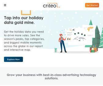 Criteo.com - Real-Time Digital Advertising That Works | Criteo
