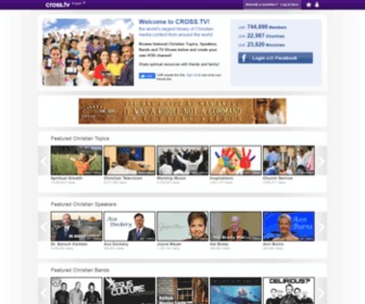 Cross.tv - The Christian Social Network in 22 languages - CROSS.TV
