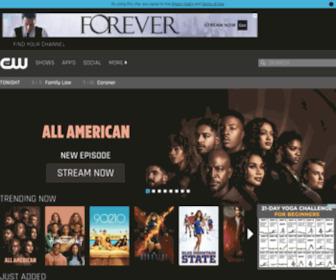 Cwtv.com - Official Site of The CW Network   CW Television Shows   CW TV