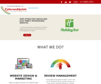 Cyberwebhotels.com - Hotel Web Site Design and Search Engine Optimization | Cyberweb Hotels