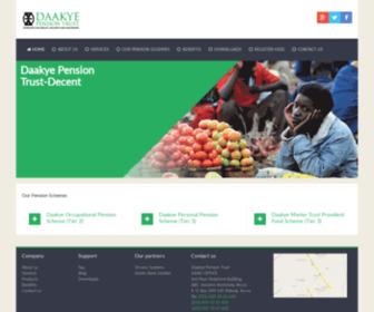 Daakyetrust.com - Daakye Pension Trust