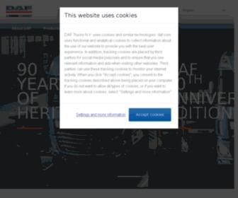 Dafcom.net - Welcome to DAF Trucks - DAF Corporate