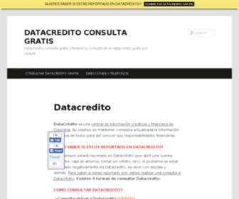 Datacreditoconsultagratis.com - DATACREDITO CONSULTA GRATIS