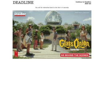 Deadline.com - Deadline | Hollywood Entertainment Breaking News