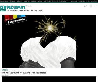 Deadspin.com - Deadspin - Sports News without Access, Favor, or Discretion