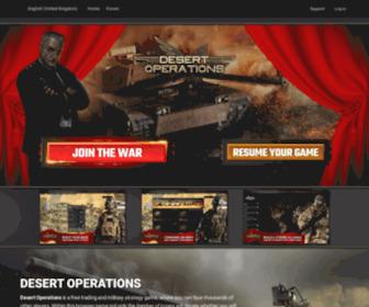 Desertops.co.uk - Desert Operations