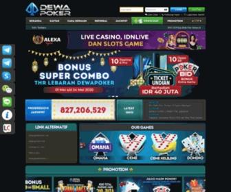 Dewapoker.asia - Poker Online | Game Poker Online Indonesia Terpercaya | Judi Poker | Agen Poker by dewapoker.net