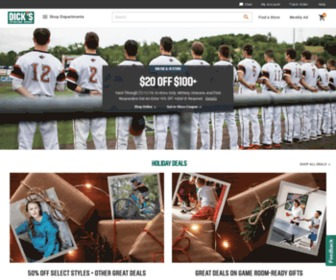 Dickssportinggoods.com - DICK'S Sporting Goods – Official Site – Every Season Starts at DICK'S