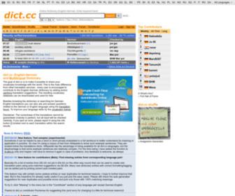 Dict.cc - dict.cc | Wörterbuch Englisch-Deutsch
