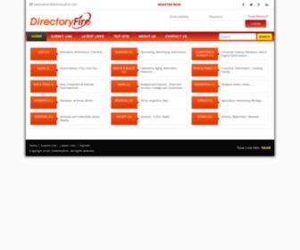 Directoryfire.com - DirectoryFire Free General Directory