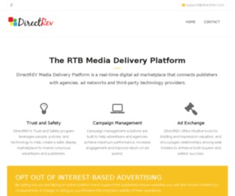 Directrev.com - DirectREV - Media Delivery Platform