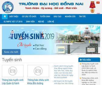 Dnpu.edu.vn - Trường Đại Học Đồng Nai