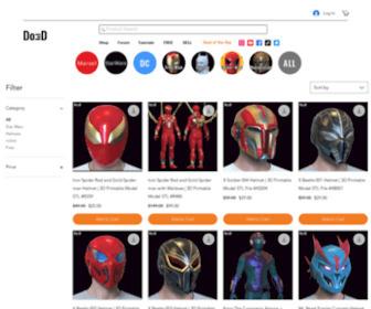 Do3d.com - Do3D.com – Top Quality 3D Printable Models,  Design, Print Files
