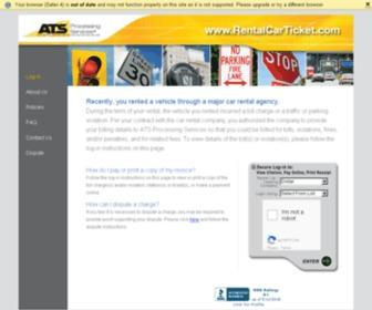 Dollarrentalfine.com - ATS Processing Services