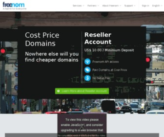 Domainshare.tk - Reseller Account