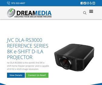 Dreamediaav.com - Dreamedia Audio/Video-972-322-4607-Home Theater-TV Installation-Media Rooms