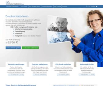 Drucker-kalibrieren.com - Farbstich entfernen - Drucker profilieren mit ICC-Profil