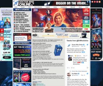 Drwho-online.co.uk - Doctor Who Online - BIGGER On The Inside...